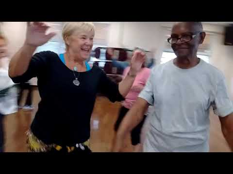 World Dance Class at Davis Center, June 6, 2019
