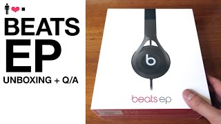 Beats EP Headphone Live Unboxing + First Impressions Review