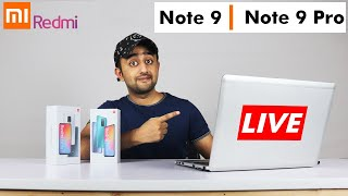 Redmi Note 9 & 9 Pro   Live Launch Event