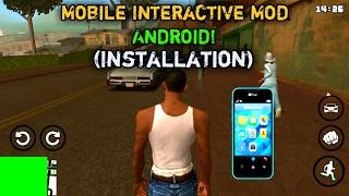 🔴Install GTA V Mobile Interactive Mod for gta sa!Android [Installation]