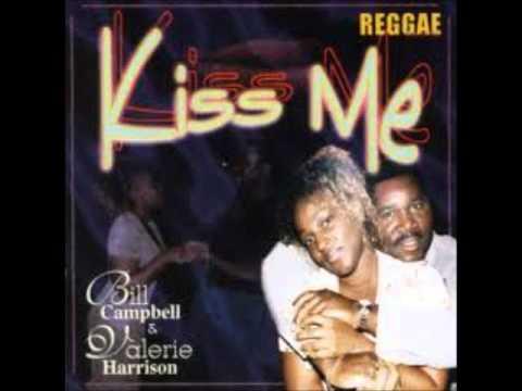 Bill Campbell & Valerie Harrison - Kiss-me