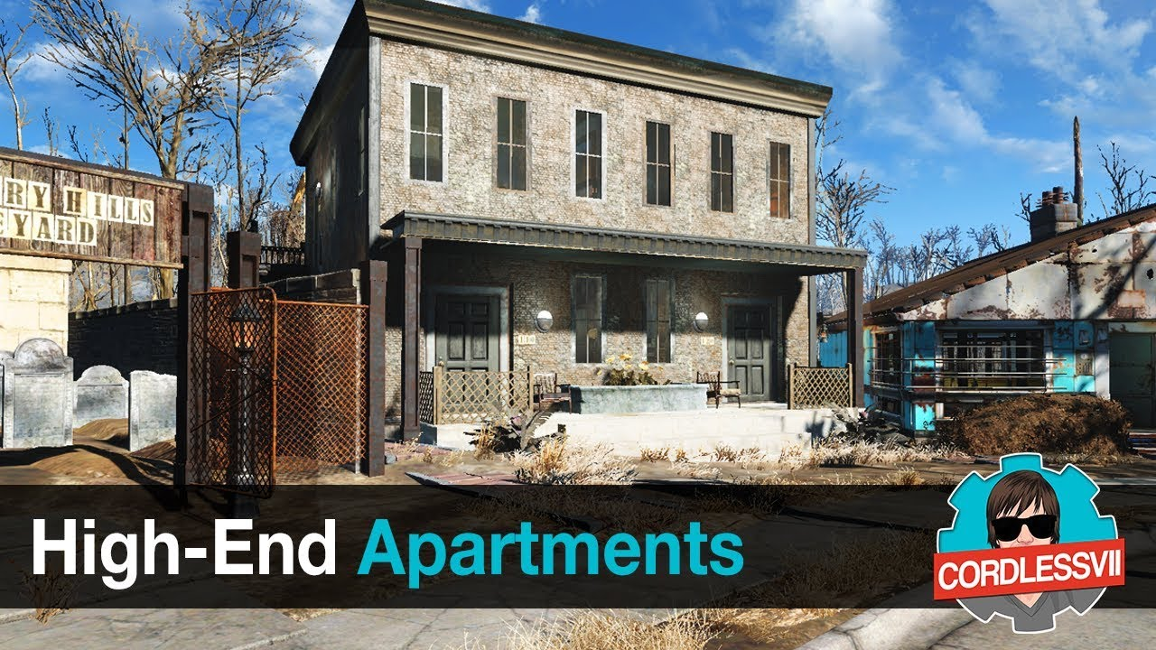 Fallout 4 | High End Apartments - YouTube