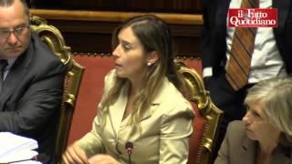 Senato, Senatrici e M5S furiose contro Barani (ALA), Taverna: