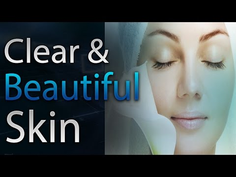 🎧 Clear and Beautiful Skin | Subliminal Affirmations | Alpha Wave | Simply Hypnotic |  acne