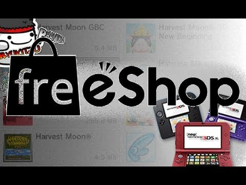 How to get free 3ds games with Freeshop