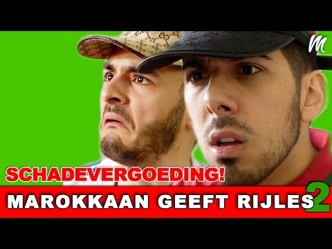 Schadevergoeding - Marokkaan Geeft Rijles (Seizoen 2, Aflevering 1) - Mertabi