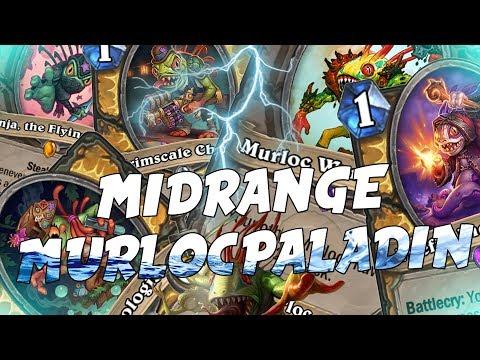 Il deck del vincitore dell'HTC Summer Championship | Midrange Murloc Paladin
