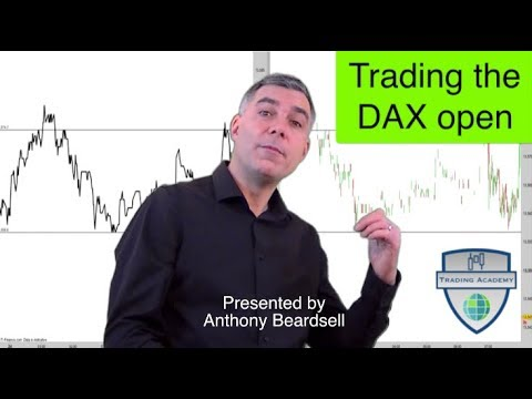 Trading the DAX open – chart patterns and line charts
