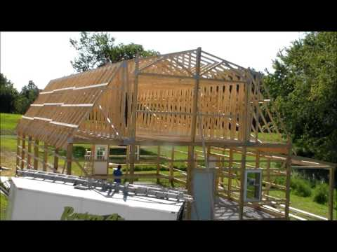 Pole Barn with Loft built by Restore All LLC - Makanda IL