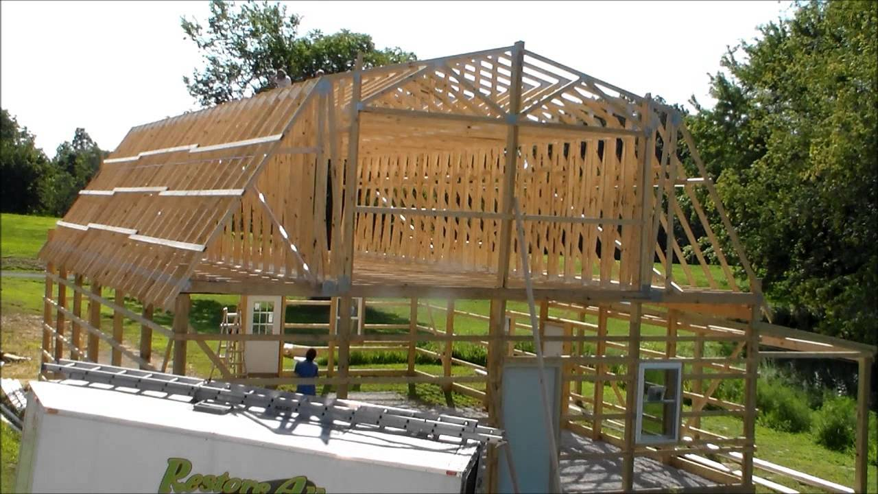 barns of house luxury pole garage two barn story plans