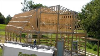 Pole Barn with Loft built by Restore All LLC - Makanda IL
