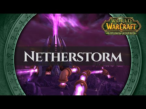 Netherstorm - Music & Ambience (1 Hour, 4K, World Of Warcraft The Burning Crusade Aka TBC)