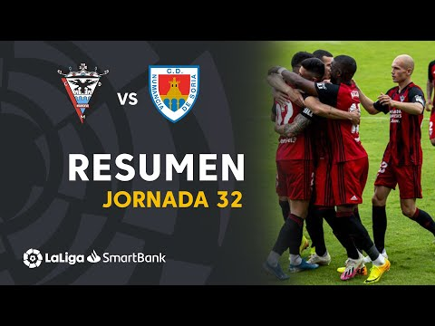 Highlights CD Mirandés vs CD Numancia (2-1) from YouTube · Duration:  1 minutes 31 seconds