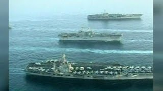 US strengthens naval force off Syrian coast