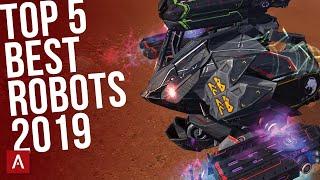 TOP 5 BEST ROBOTS IN 2019 - Champion League Gameplay || War Robots [WR]