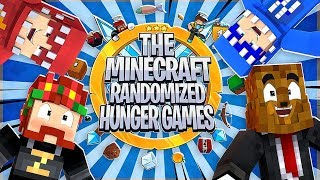The Minecraft Randomized Hunger Games! - Minecraft Modded Minigames | JeromeASF