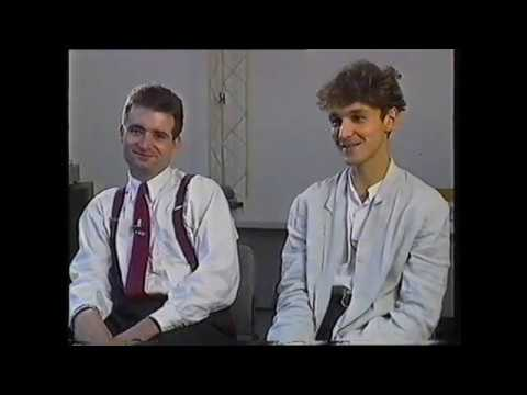 James - interview with Tim Booth and Gavan Whelan, Rockin' In The UK (Oct 88)
