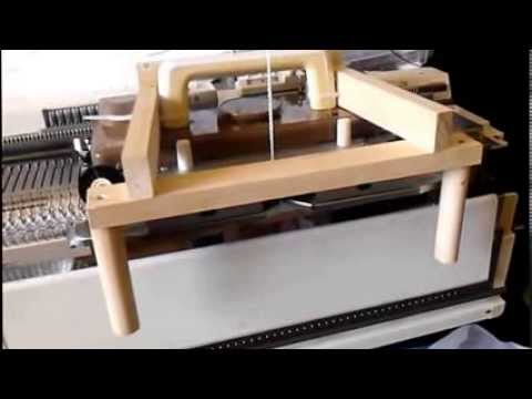 Singer 155 knitting machine moving mast modifications