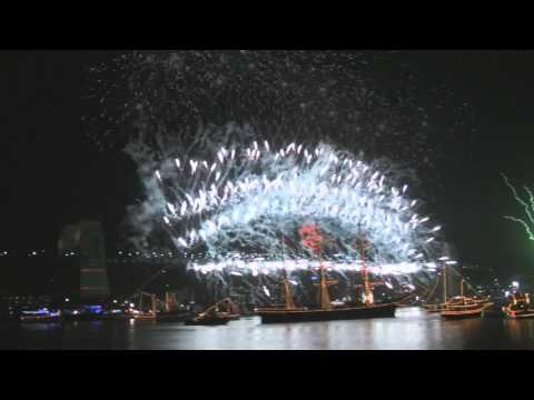 Sydney NYE Fireworks 2010