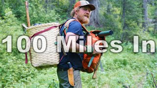 100 Miles In Day 11 of 30 Day Survival Challenge Canadian Rockies