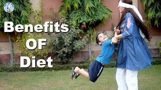 Benefits of Diet to playing with Kids | Kitchen With Amna | Life with Amna