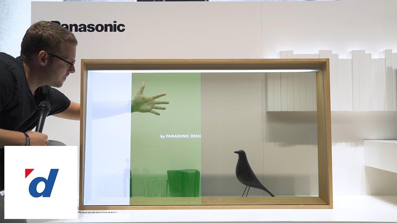 Panasonic zeigt den ersten transparenten OLED-TV - IFA 2019 - YouTube
