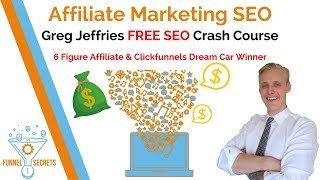 Affiliate Marketing SEO Training - FREE SEO Course
