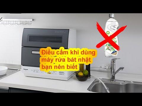 Cấm kị khi sử dụng máy rửa bát Nhật bạn nên biết trước khi quá muộn - Shop An Gia