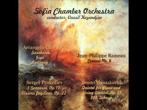 Sergei Prokofiev: Sarcasms, Op.17