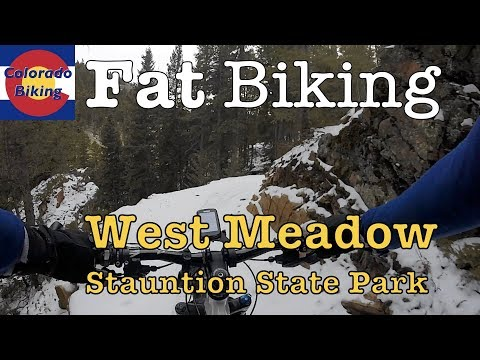 Fat Biking: Staunton State Park: West Meadow (Dec 16, 2017)