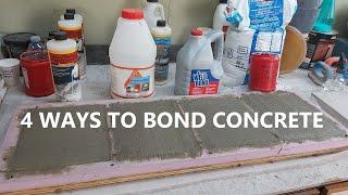 4 Ways To Bond New Concrete To Old Concrete