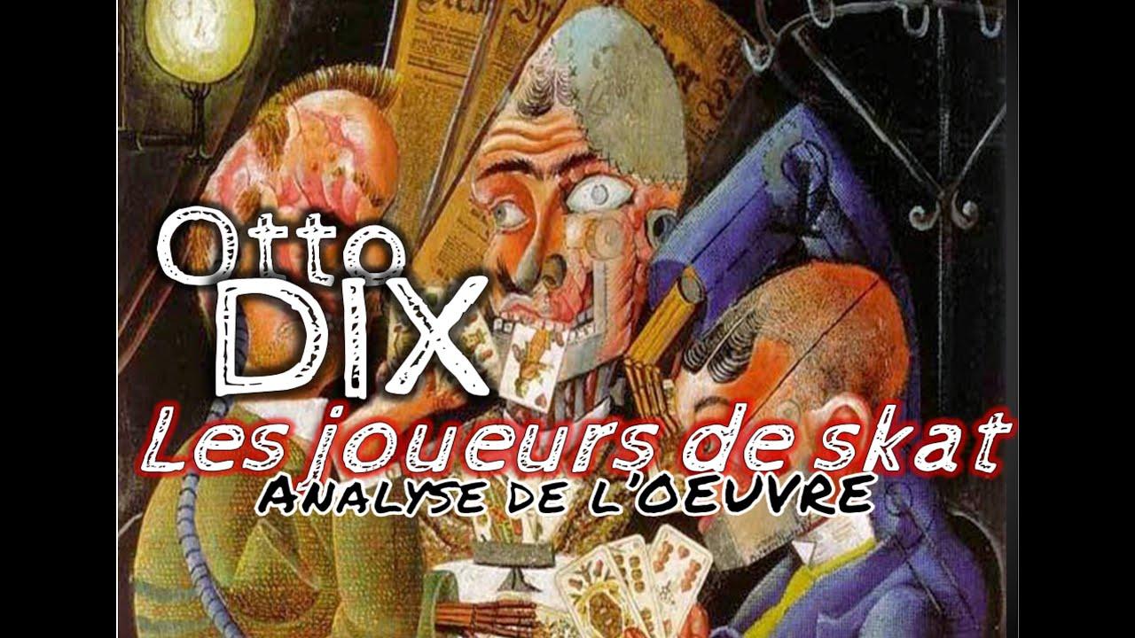 Otto Dix Les Joueurs De Skat Analyse Du Tableau Histoire Des Arts 3eme Youtube