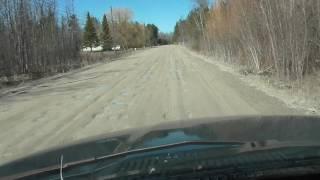The Worst Road In America!! Pot Hole City!! Alpena Michigan 2017