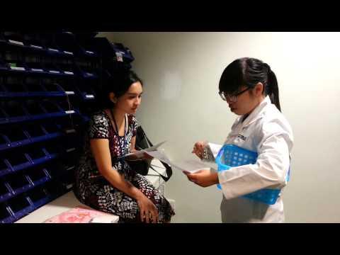 Khi Hương làm dược sĩ