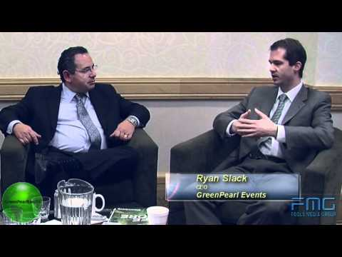 Ryan Slack CEO of GreenPearl at the 2011 Distressed Assets S