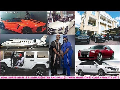 How Super Rich Is P Square (Mr P & Rudeboy)? ► P Square's Mansions, Cars, Private Jet & Luxuries