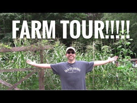 FARM TOUR 2017 - Garden Tour - Homestead Tour- Cog Hill Farm
