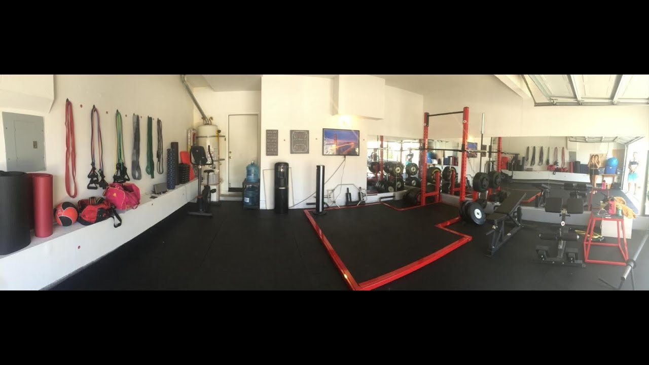 Dynamic duo training home gym orangecounty fitness