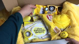 Share Handmade Kindness Challenge- Sunshine Boxes