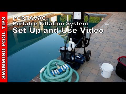 PORTAVAC Portable Filtration System - Set Up and Use Video
