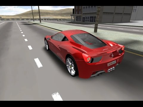 3D Ferrari F458 Gameplay - Best Car Game - YouTube