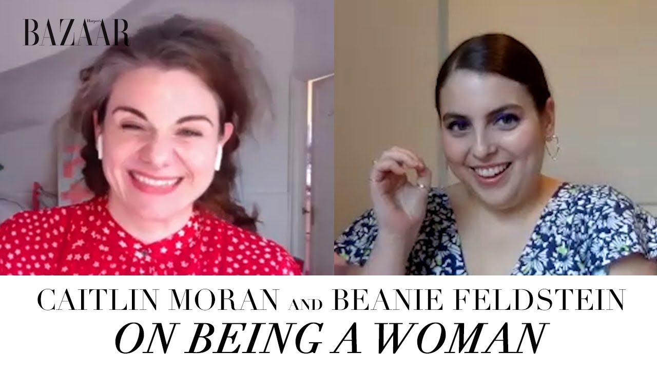 Beanie Feldstein and Caitlyn Moran on being a woman in your 20s vs your 40s  | Bazaar UK