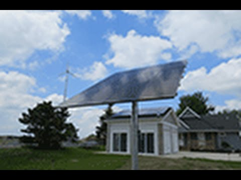 Erie Community College Energy Campus Solar Panel
