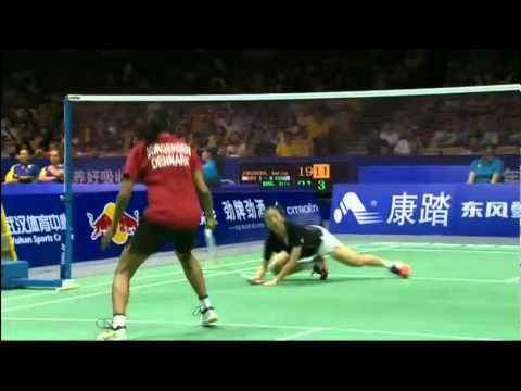 Group (Day 2) - Denmark (K.Jorgensen) vs USA (Iris Wang) - Uber Cup 2012
