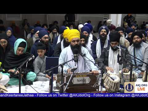 074 Toronto Dec. 2017 - Friday PM - Bhai Jasdeep Singh Jee Toronto