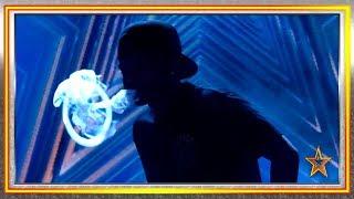 Su vapor de agua en forma de HUMO nos deja BOQUIABIERTOS | Audiciones 9 | Got Talent España 2019