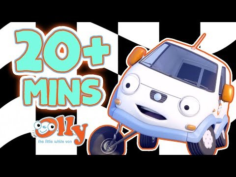 Olly The Little White Van - Bumpton's Best | Competitive Cars