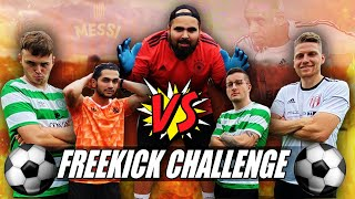 ULTIMATIVE FREEKICK FUßBALL CHALLENGE vs NoHandGaming & Bossio! PMTV