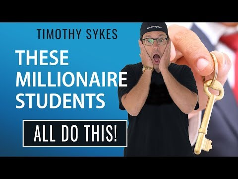 These Millionaire Students All Do THIS!