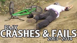 BMX Crashes & Fails (Flow Visuals 2003 - 2014)